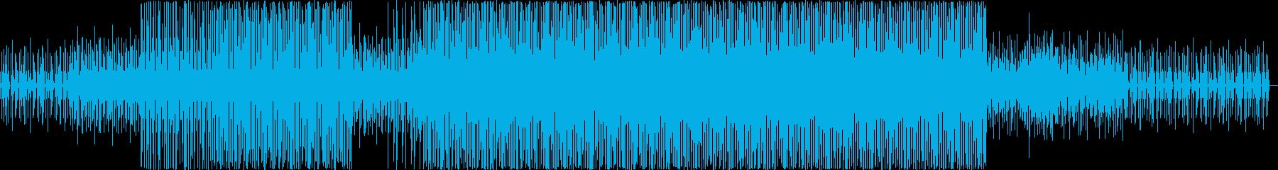 ディープ・ハウス。夜の音楽。フィル...の再生済みの波形