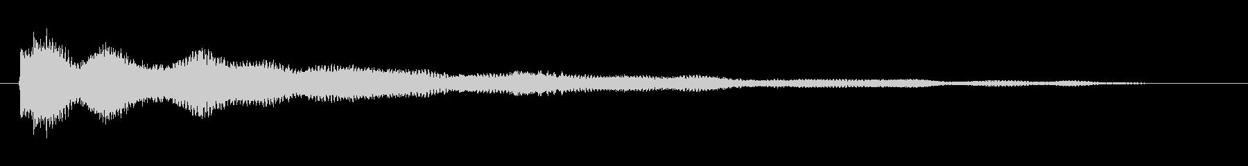 擬音【らりらん〜ぽわぽわ】【エンコード…の未再生の波形