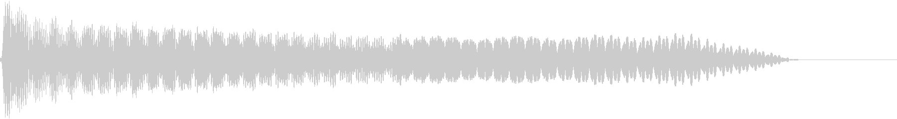 UI系 カーソル選択 ティロの未再生の波形