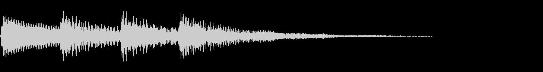 アナウンス/場内放送/館内放送/呼び出しの未再生の波形