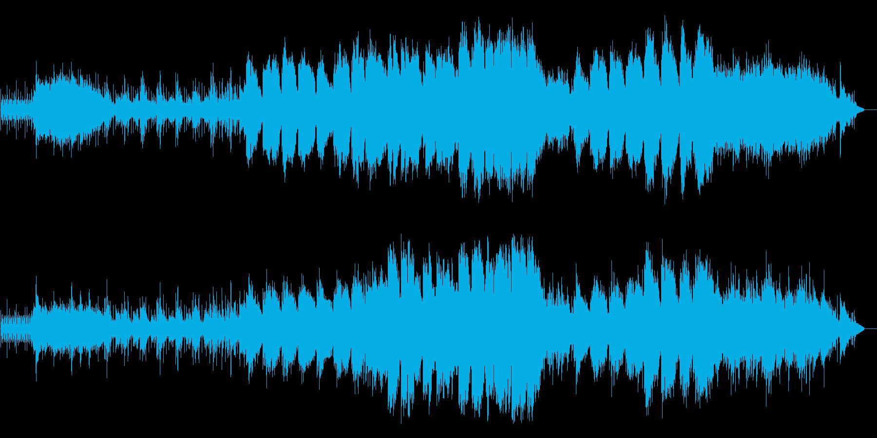 大自然の雄大さをイメージした映像音楽ですの再生済みの波形