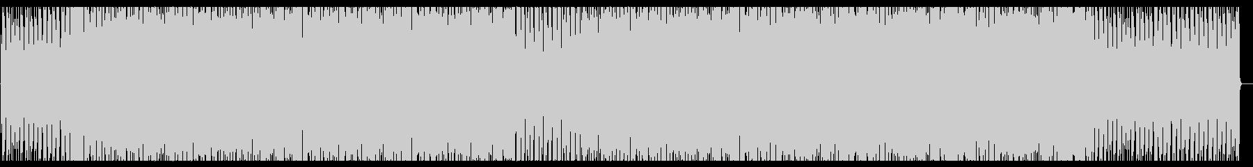 アナログシンセのテクスチャーEDMの未再生の波形