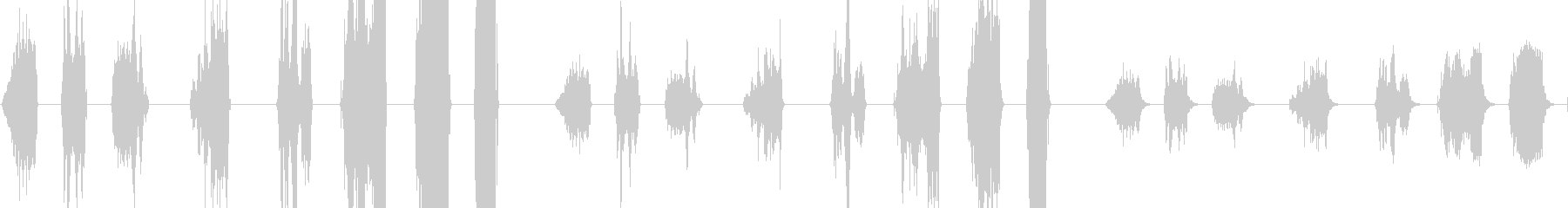 ダークディシャーモニックロープ、8...の未再生の波形