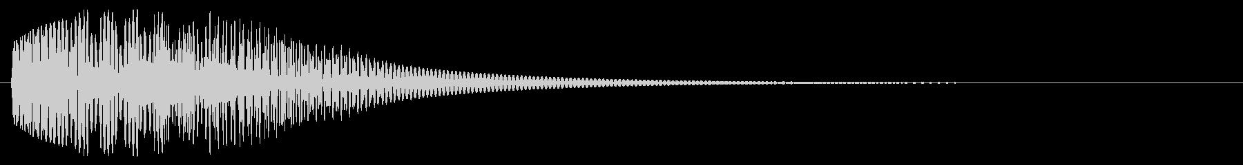 決定_タップ_クリック_200709の未再生の波形