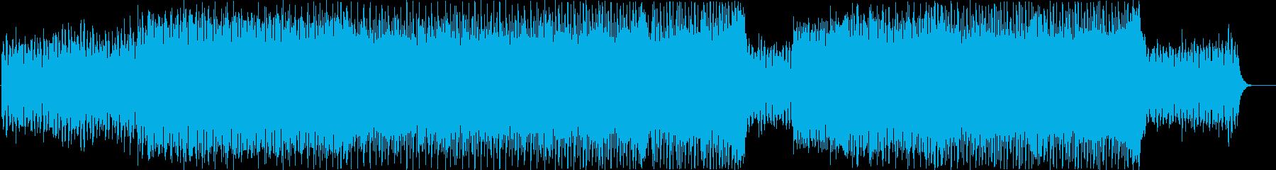 80年代風シンセウェーブ ヴォコーダー無の再生済みの波形