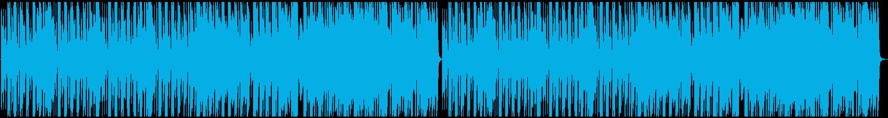 おしゃれなカフェBGMの再生済みの波形