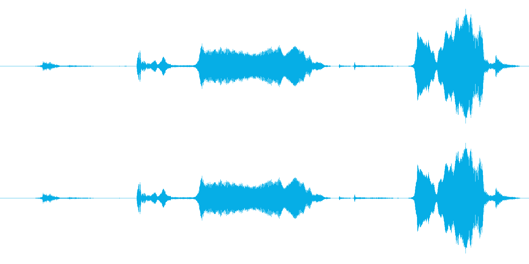 犬 GSP ワインロー05の再生済みの波形