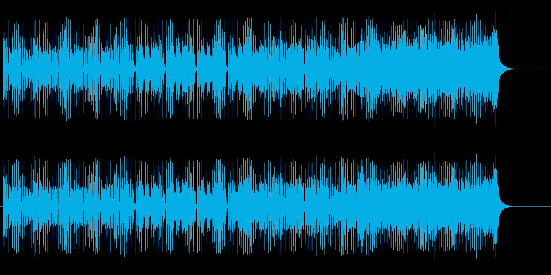 エレクトリックでスマートなポップ/ロックの再生済みの波形