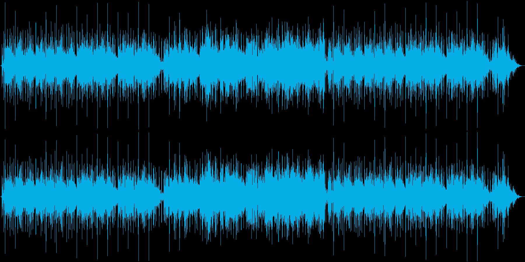 気持ちいいドライブインストBGMの再生済みの波形