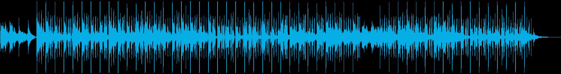 浮遊感のあるノスタルジックなチルアウトの再生済みの波形