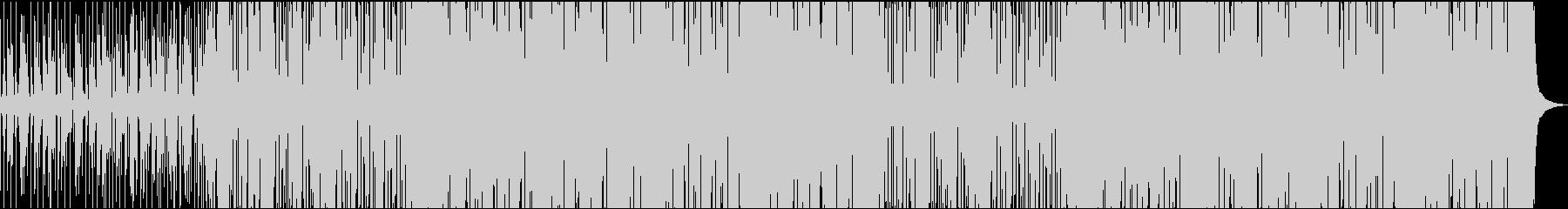 Funky Manの未再生の波形