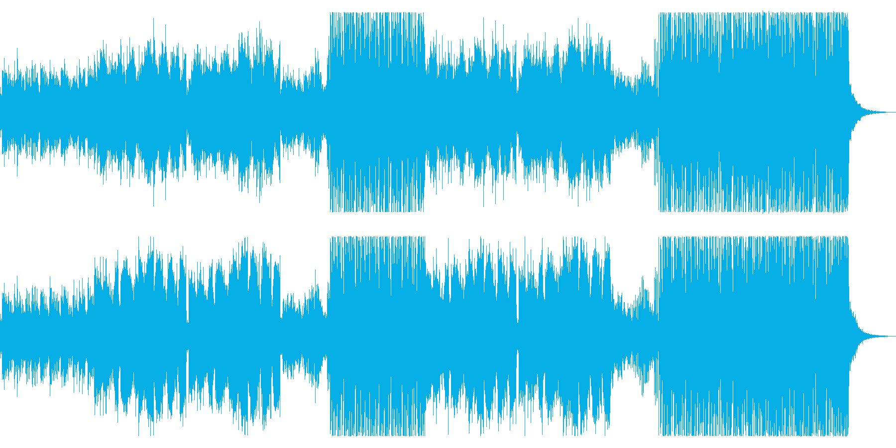 夏!おしゃれ!トロピカルハウスEDMの再生済みの波形