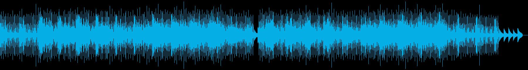 かわいい・ゆったり・若干エレクトロな曲の再生済みの波形