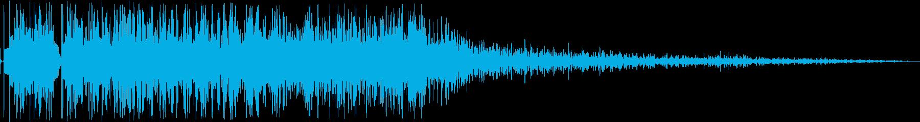 【本物】戦車砲(ソニックブーム発生)の再生済みの波形