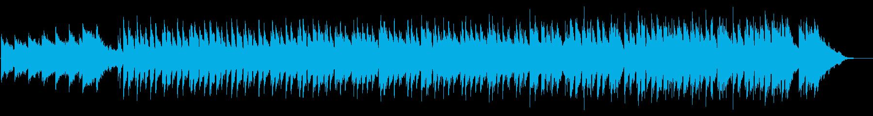 【ショート】キラキラした冬の温かなポップの再生済みの波形