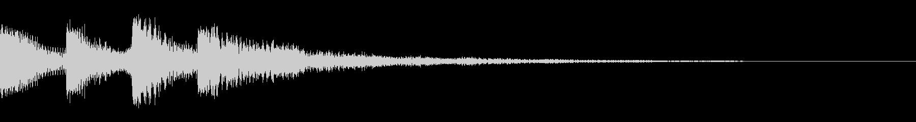 ドゥワーン(クリック_選択開始_01)の未再生の波形