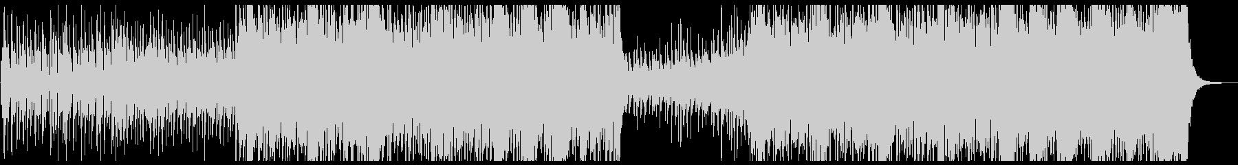 少しジャジー感動ピアノメロ曲の未再生の波形