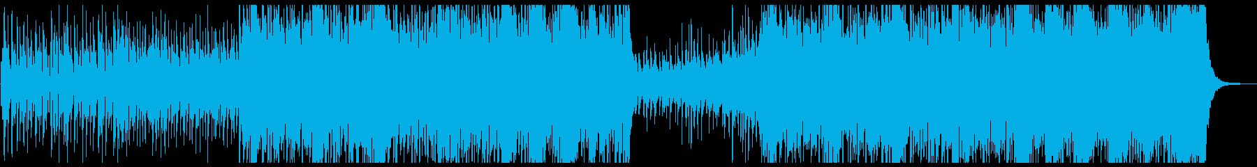 少しジャジー感動ピアノメロ曲の再生済みの波形