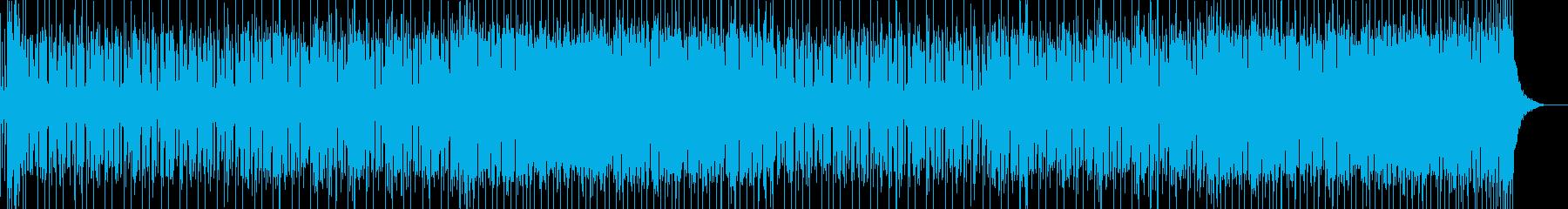 ふつふつとやる気が出る楽しいポップスの再生済みの波形