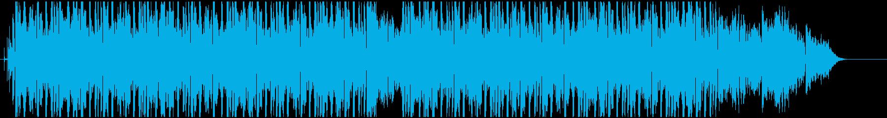 アンビエント・ヒーリング系ヒップホップの再生済みの波形