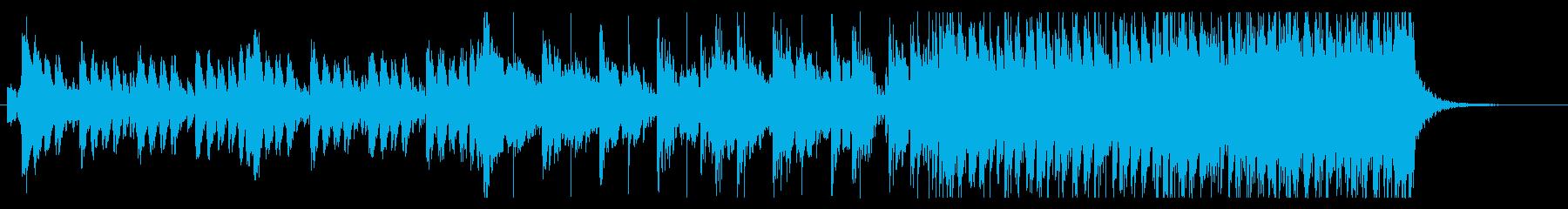 『戦いの決着』的な雰囲気のエピックBGMの再生済みの波形
