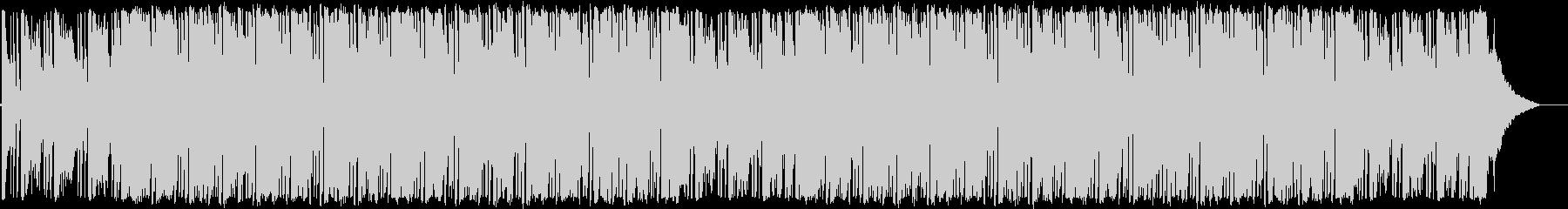 ソウルフルな演奏のジャズピアノトリオの未再生の波形
