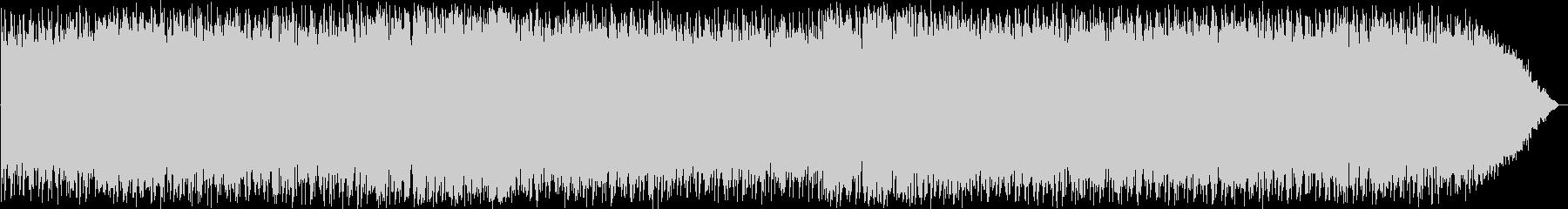 力強いケーナのニューエイジ音楽の未再生の波形