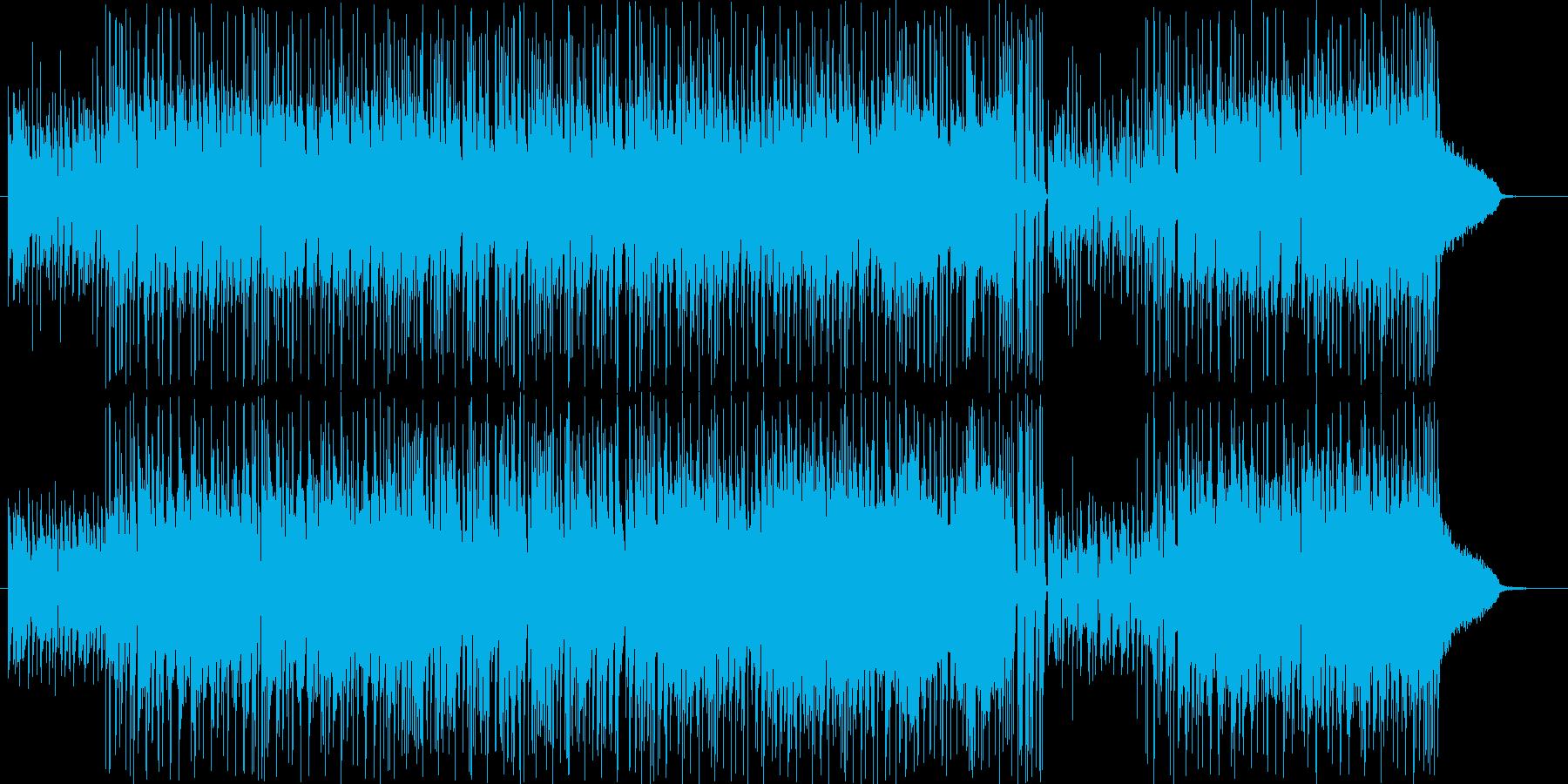 ギターカッティングが心地よいサウンドの再生済みの波形