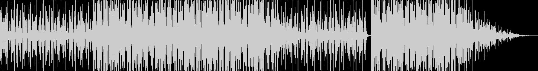 突然雰囲気が変化するBGMの未再生の波形