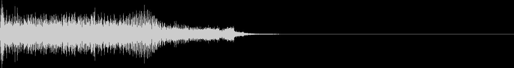 衝撃 ギター インパクト ノイズ 14の未再生の波形