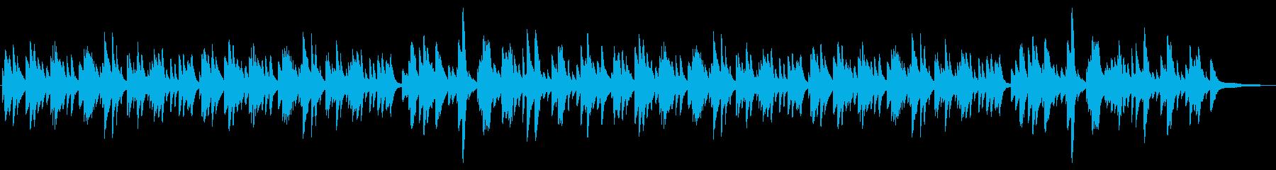 やさしい雰囲気のピアノソロ 3拍子の再生済みの波形