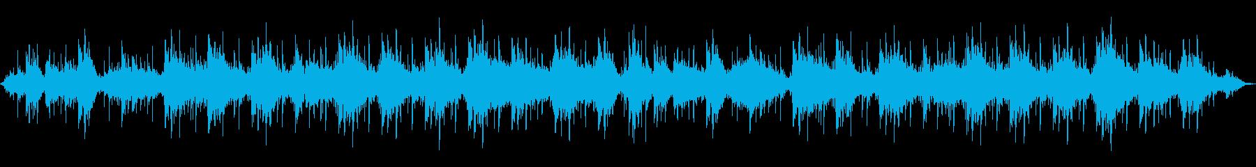 深海を漂うような音の再生済みの波形
