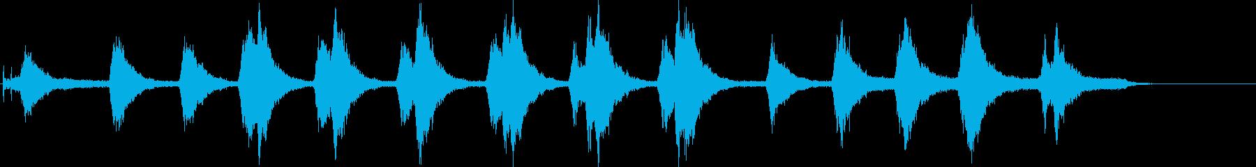 中型セダンスタートエンジン、Rev...の再生済みの波形