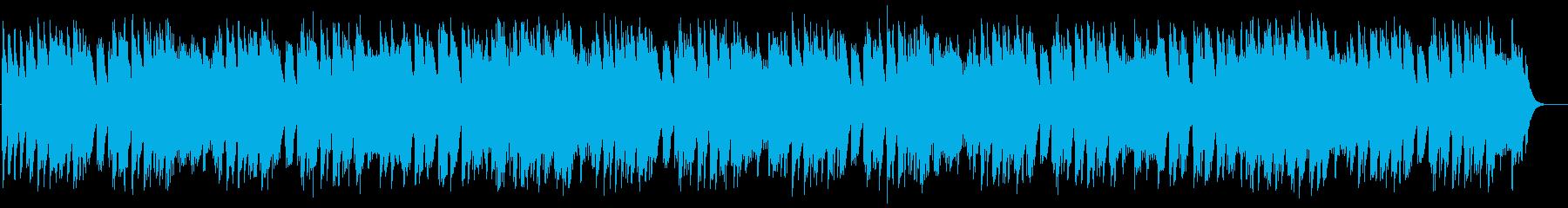おしゃれなリズムでやさしいオルゴールの再生済みの波形