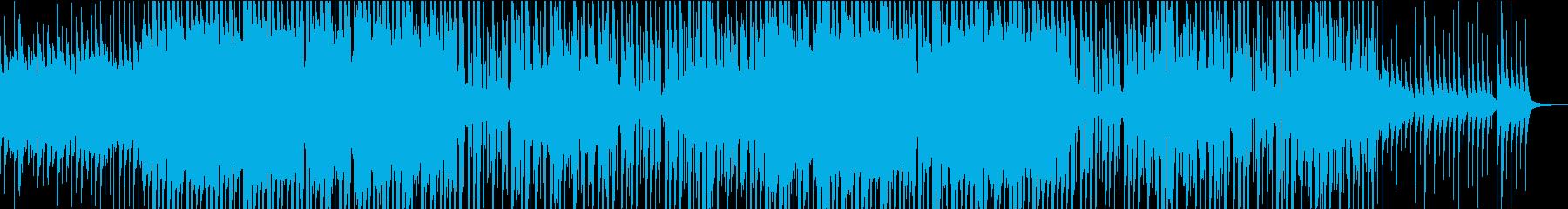 令和をイメージした和風テクノポップの再生済みの波形