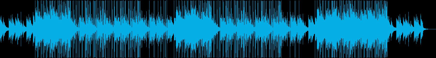 お洒落なR&B/トラップビートの再生済みの波形