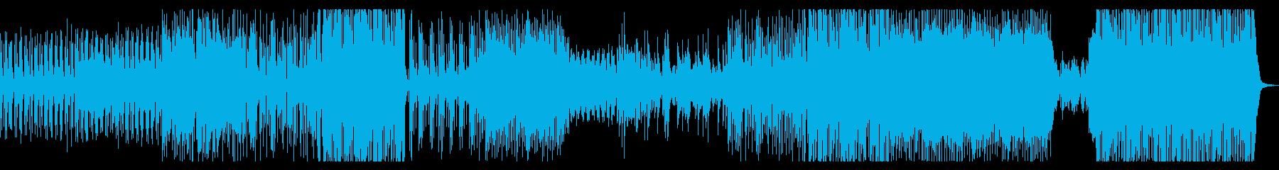 カフェ気分のピアノジャズの再生済みの波形