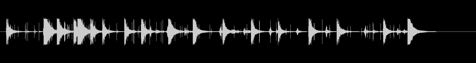 爆竹-複数の効果のシーケンス-花火の未再生の波形