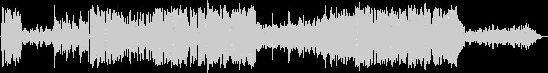 サックスのミディアムテンポのポップスの未再生の波形