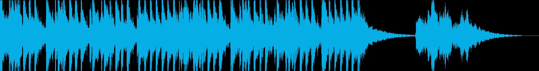 面白い映画オーケストラピチカート音楽の再生済みの波形