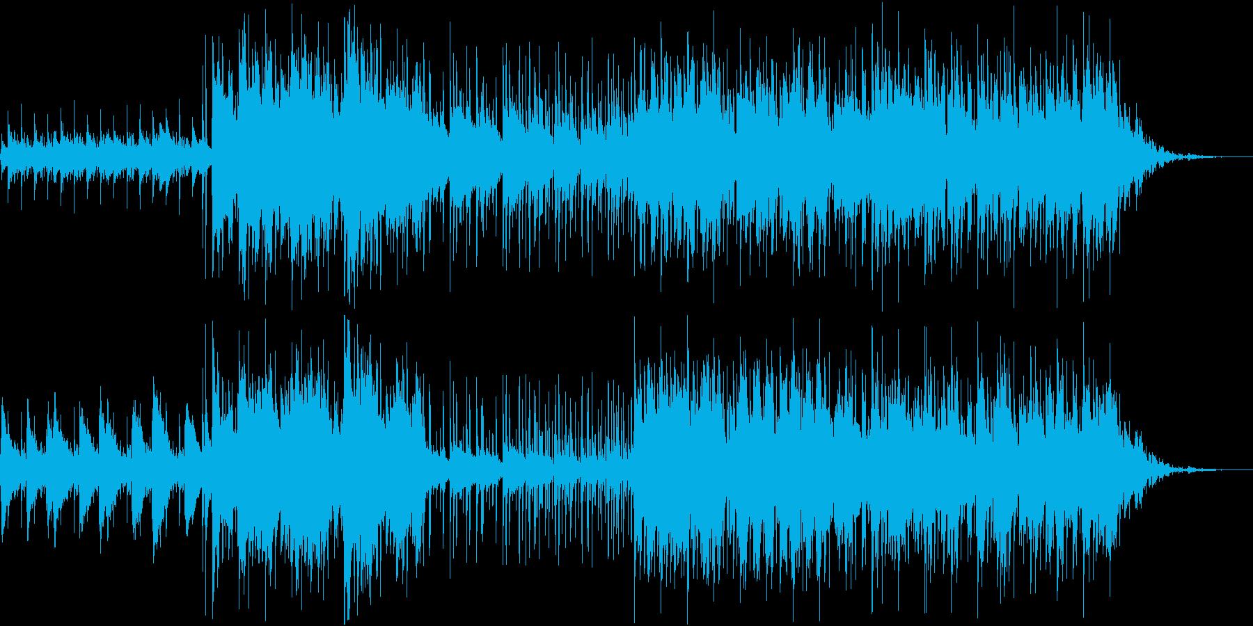 R&Bせつないラブソング・カラオケの再生済みの波形