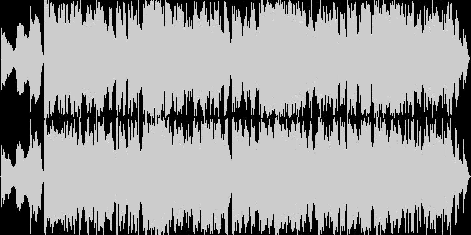 Pop band soundの未再生の波形