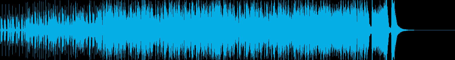 ノリノリなジャズ-短縮版-の再生済みの波形