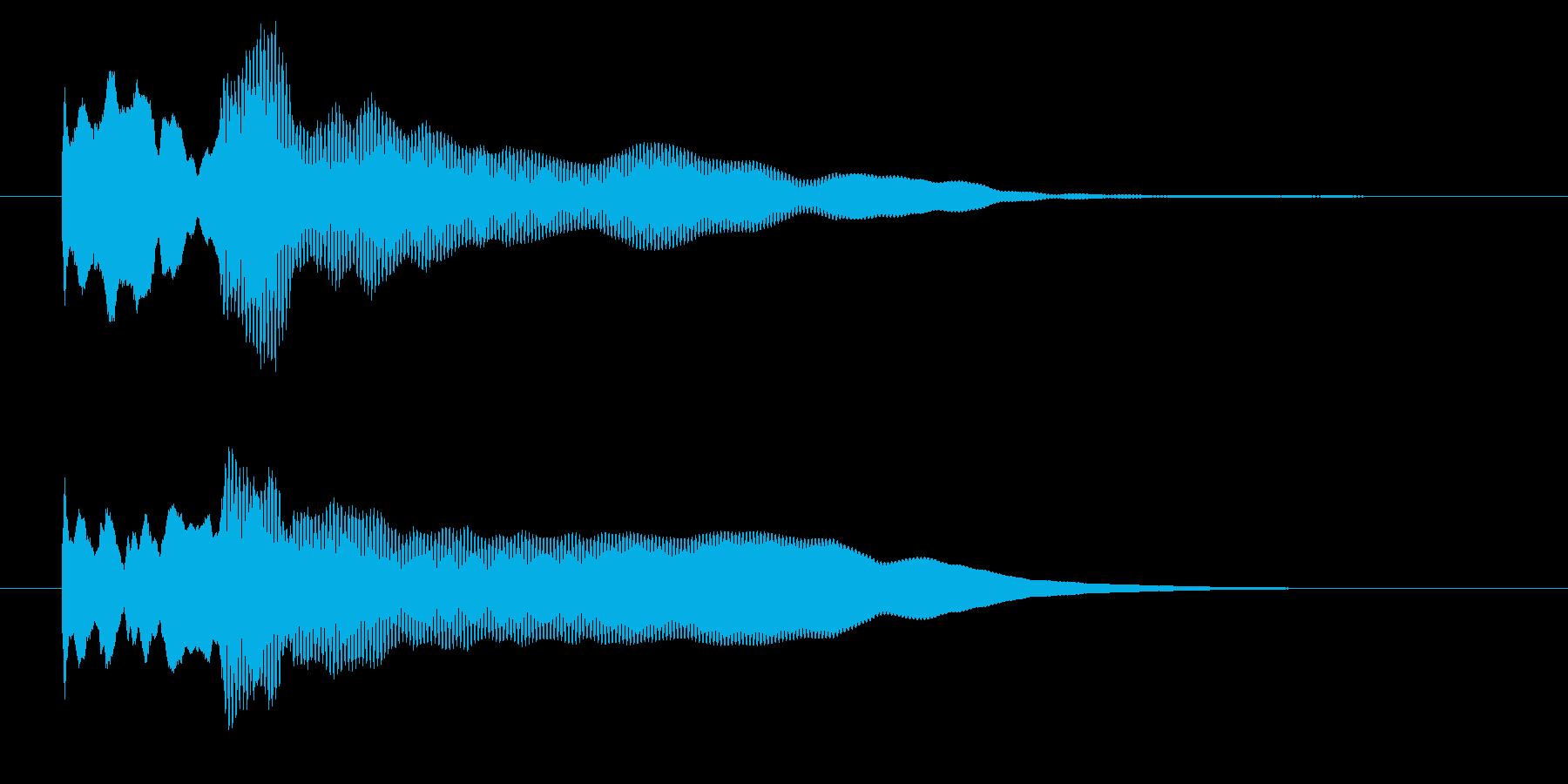 改札 アラーム01-8(音色2 遠)の再生済みの波形