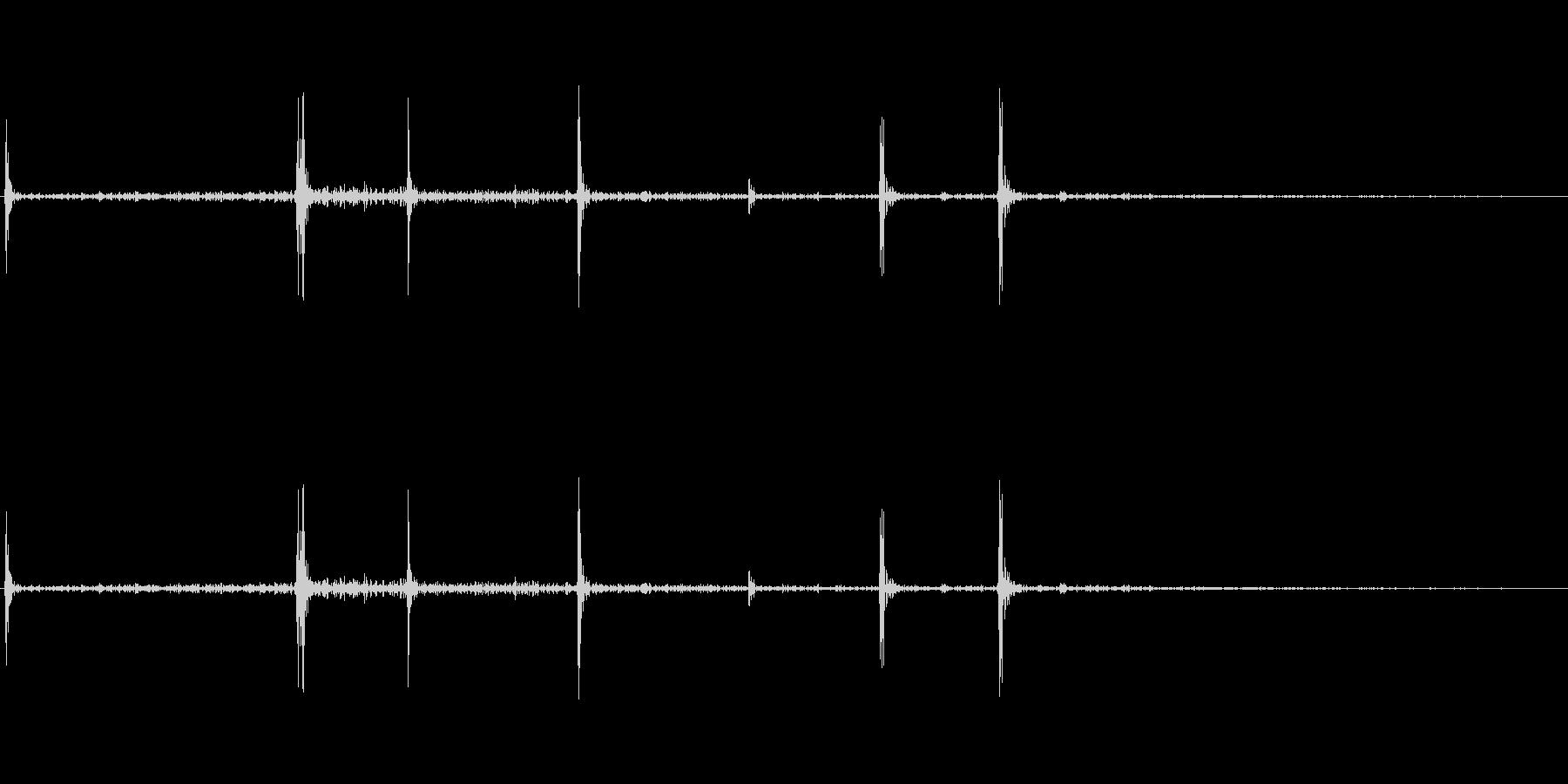 栄養ドリンクの蓋を開ける音の未再生の波形