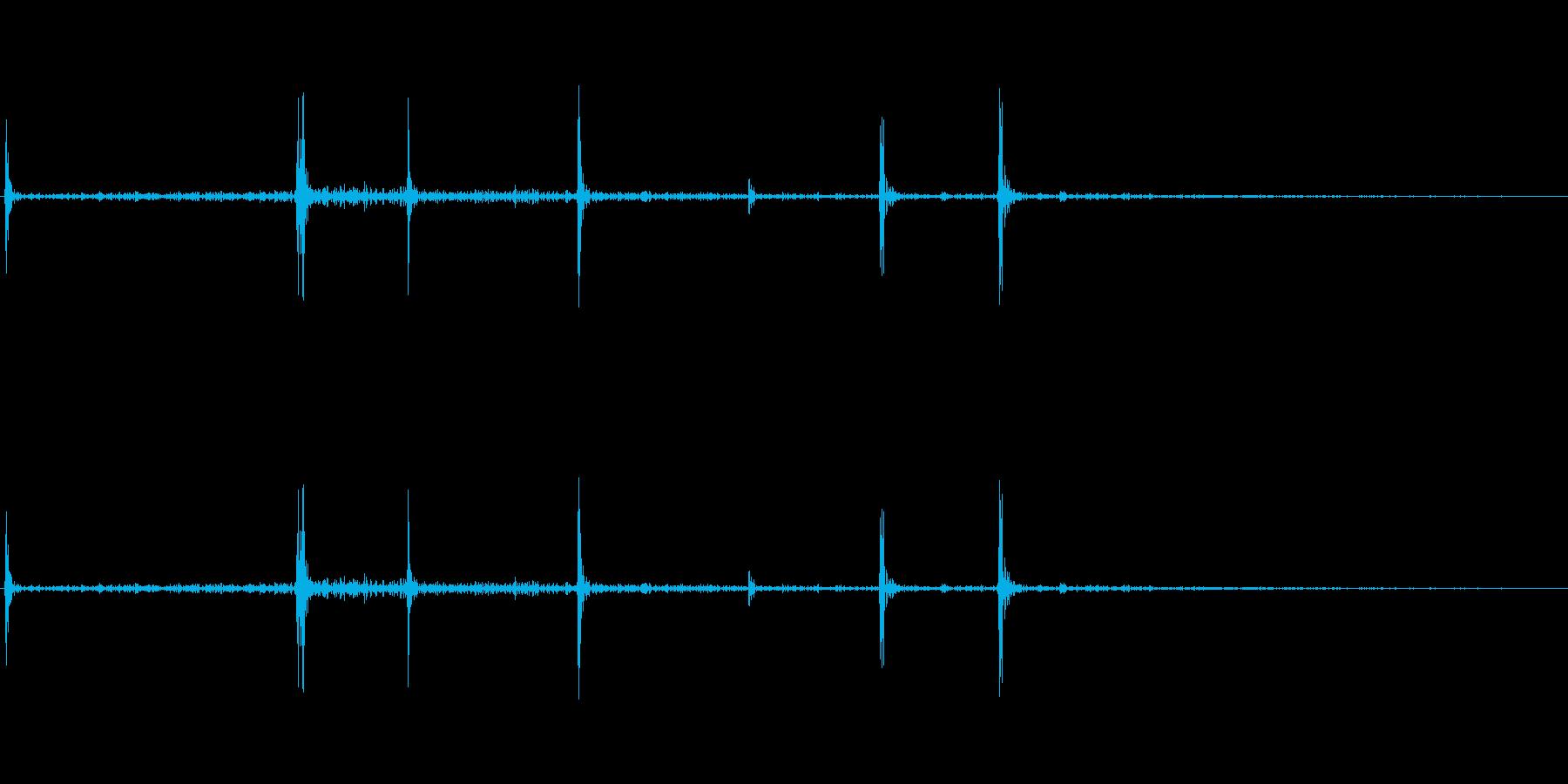 栄養ドリンクの蓋を開ける音の再生済みの波形