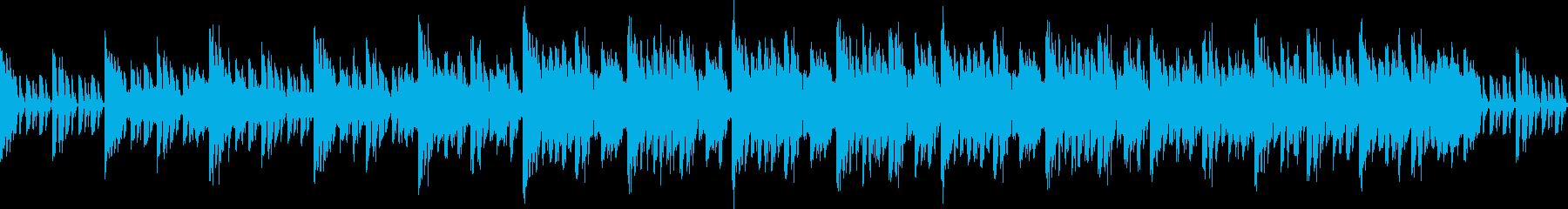 神秘的★近未来的なEDM|ループ素材の再生済みの波形