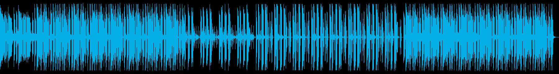 落ち着いた雰囲気のHiphopの再生済みの波形