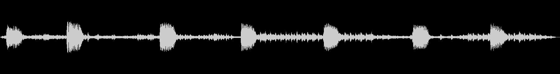 コマドリ 乗鞍高原の未再生の波形