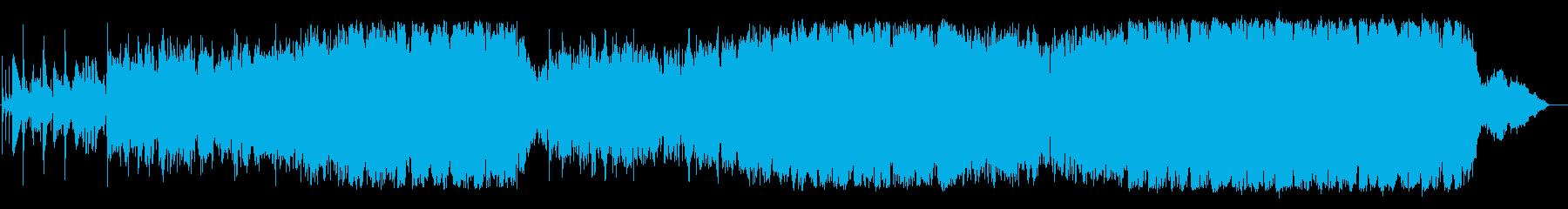 3拍子のフリーソウル風作品の再生済みの波形